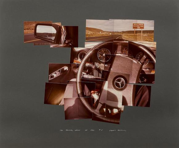 David Hockney (born 1937); The Steering Wheel;