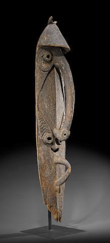 Monumental Kwoma Spirit Figure, Urumbanj Village, Washkuk Hills, Papua New Guinea