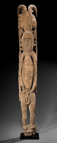 Large Worsera Figure, Southern Abelam, Middle Sepik River, Papua New Guinea