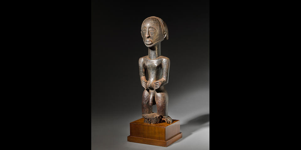 Fine Hemba Male Figure, Democratic Republic of the Congo
