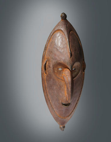 Sepik River or Lower Ramu River Mask, Papua New Guinea