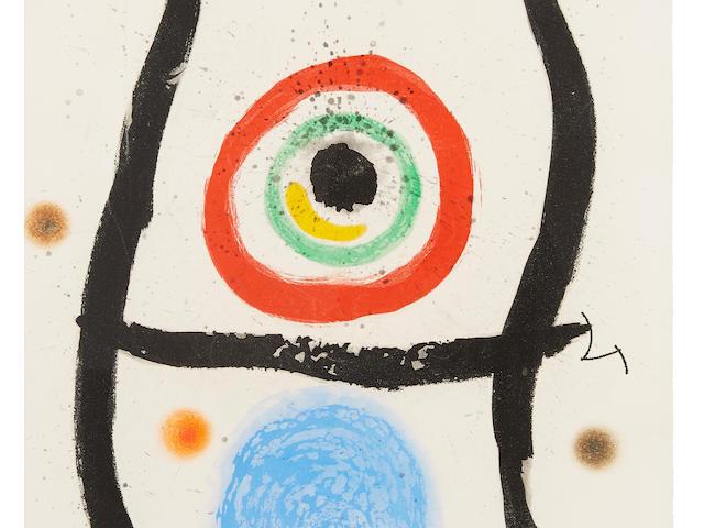 Joan Miró (1893-1983); Le Bleu de la Cible;