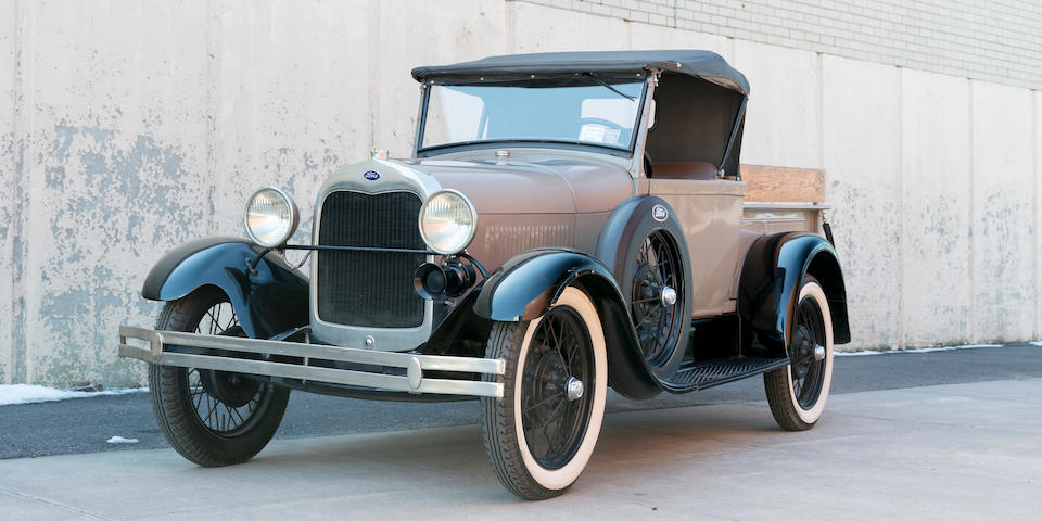 <b>1929 Ford Model A Roadster Pickup  </b><br />Engine no. CA112717