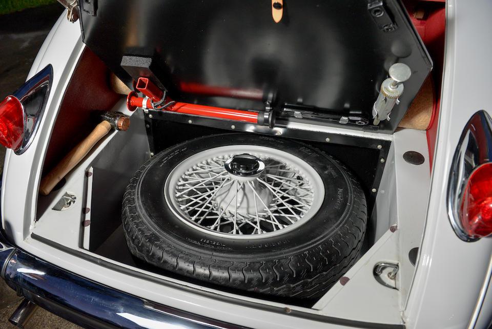 <b>1958 Jaguar XK150 3.4-Liter Roadster  </b><br />Chassis no. S830174DN <br />Engine no. V2655-8