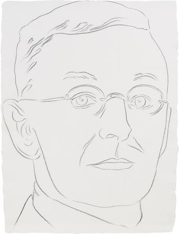 ANDY WARHOL (1928-1987) Hermann Hesse, circa 1984