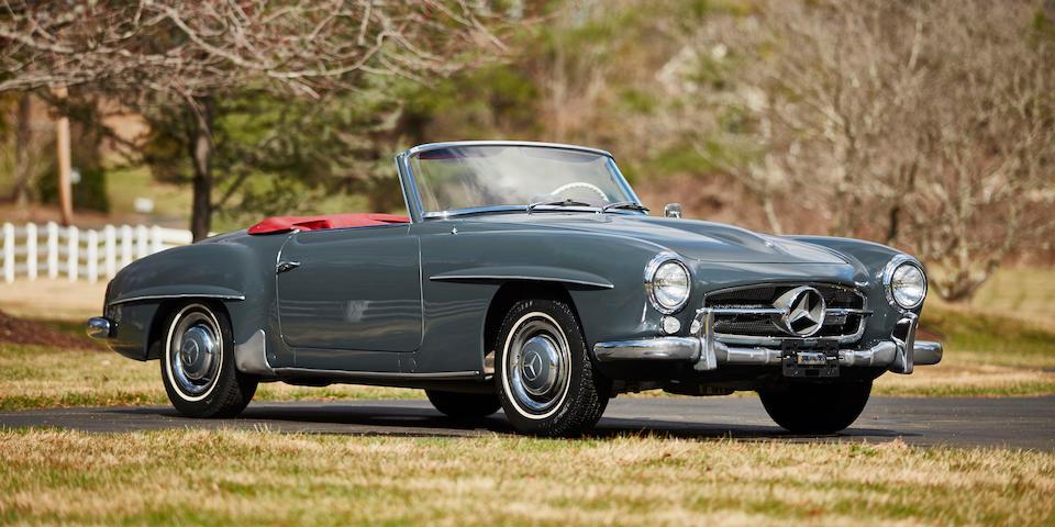 1961 Mercedes-Benz 190SL Convertible  Chassis no. 121040-10-020314 Engine no. 121040-10-020404