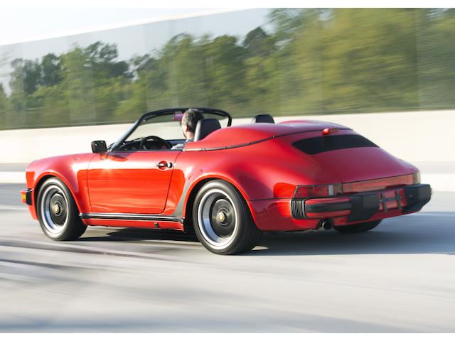 <i>Superb original condition</i><br /><b>1989 Porsche 911 Carrera Speedster</b>