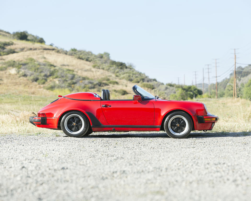 1989 PORSCHE 911 CARRERA SPEEDSTERVIN. WP0EB0911KS173142  Engine no. 64K05632