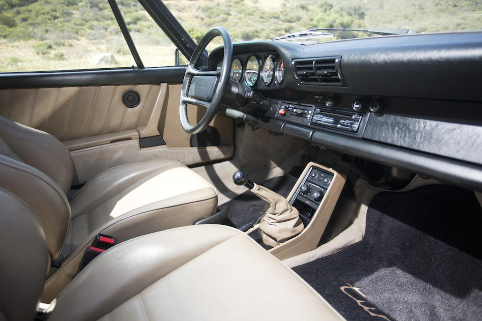 1986 PORSCHE 930 TURBO COUPEVIN. WP0JB0933GS051289  Engine no. 68G01294
