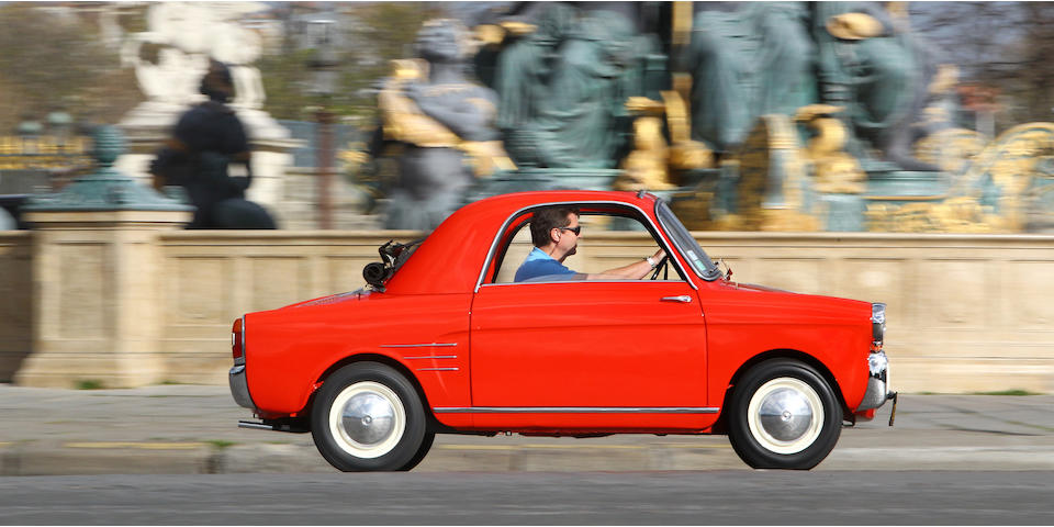 <b>1959 Autobianchi Bianchina First Series Transformable Coupé  </b><br />Chassis no. 110B-017116 <br />Engine no. 110.000-084377