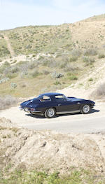 Offered from the Tony Hart Collection     ,1963 CHEVROLET CORVETTE 327/360HP COUPE  Chassis no. 30837S105479 Engine no. 3105479 F11126RF