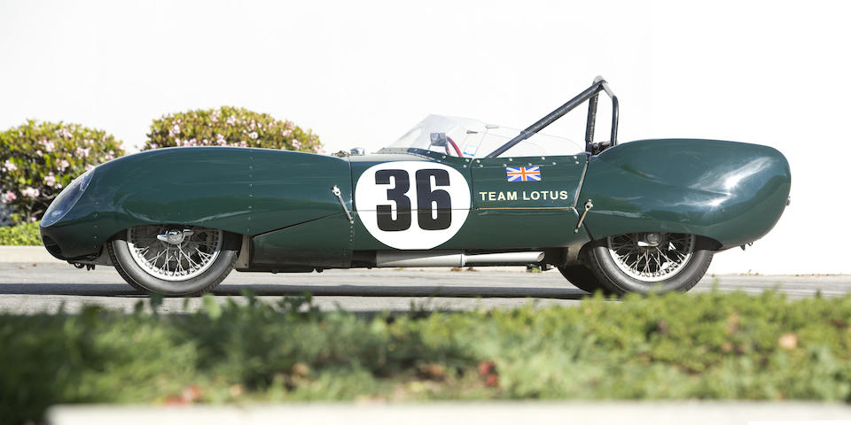 Offered from the Tony Hart Collection1956 Lotus 11 Le Mans,1956 LOTUS ELEVEN LE MANS SPORTS RACER  Engine no. FWA 400-9 6968