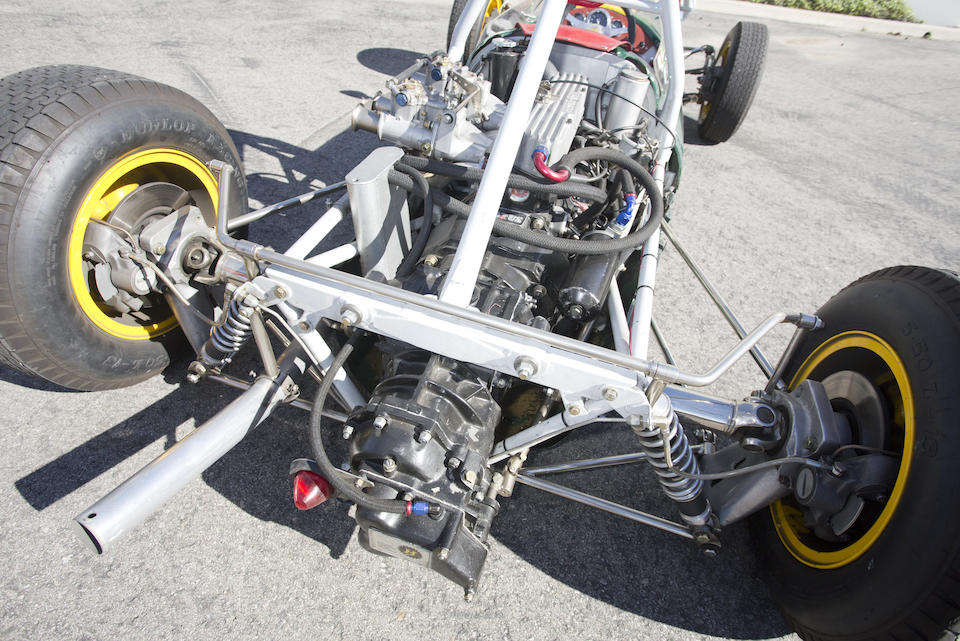 Property from the Tony Hart Collection - The ex-Jim Palmer,1961 LOTUS 20/22 FORMULA JUNIOR
