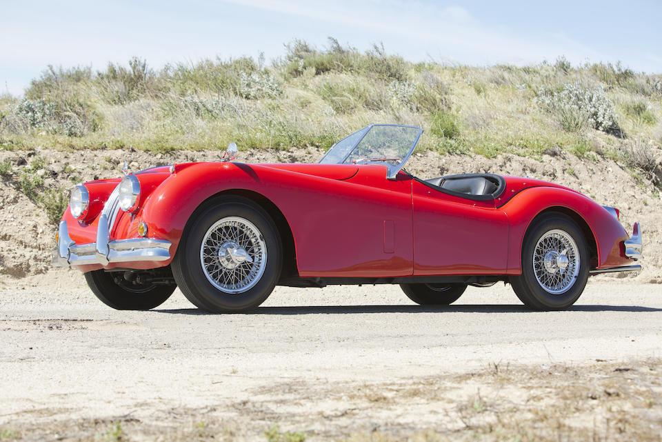 Offered from the Tony Hart Collection     ,1956 JAGUAR XK140 MC ROADSTER  Chassis no. 5811630D/N Engine no. G 4870-8S
