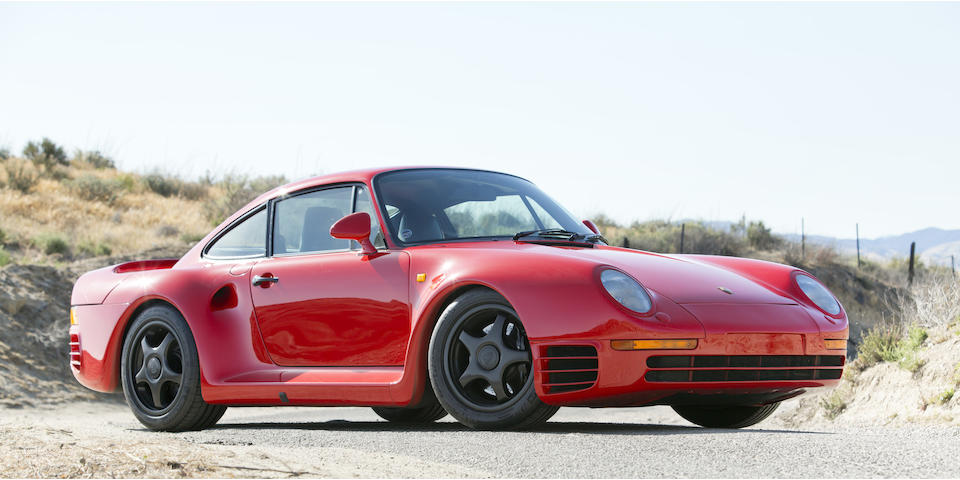 <i>Offered from the Tony Hart Collection<br />4,700 mile federalized example</i><br /><b>1987 Porsche 959 Komfort</b>