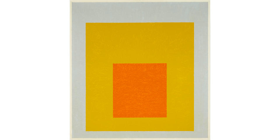 "JOSEF ALBERS (1888-1976) Homage to the Square: ""Suspended"", 1953"