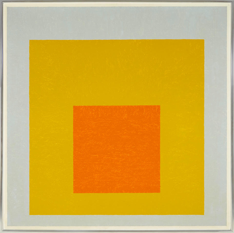 """JOSEF ALBERS (1888-1976) Homage to the Square: """"Suspended"""", 1953"""
