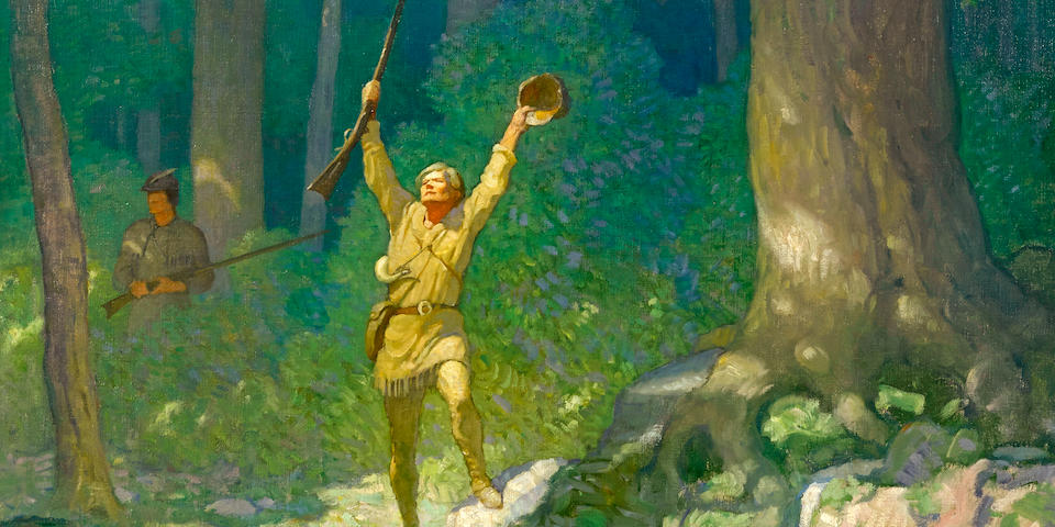 Illustration By Newell Convers Wyeth Fetches $1.325 Million At Bonhams