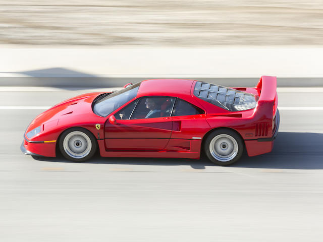 <i>Offered from the Tony Hart Collection</i><br /><b>1990 Ferrari F40</b>