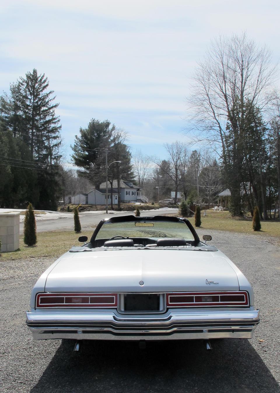 Bonhams : 1977 Chevrolet Caprice Convertible Chassis no