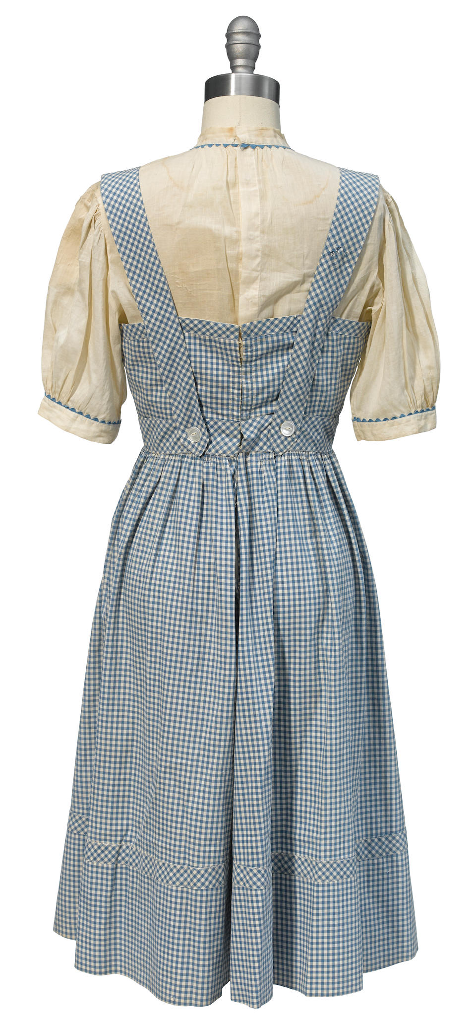 "A Judy Garland-worn ""Dorothy"" dress from The Wizard of Oz"