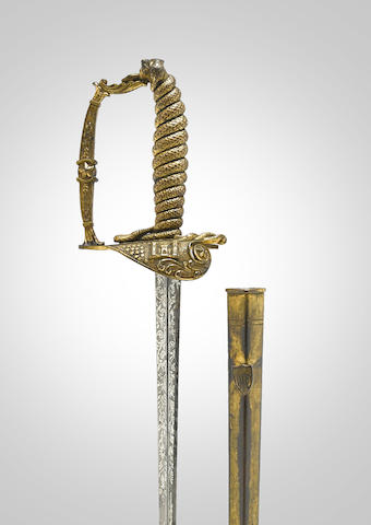 A rare U.S. Model 1840 Engineer's sword