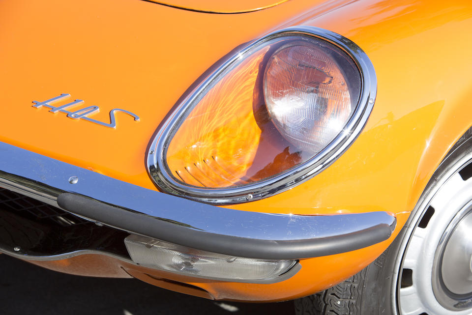 <b>1968 MAZDA 110S COSMO SPORT COUPE  </b><br />Chassis no. L10A-10419 <br />Engine no. 10A-1581