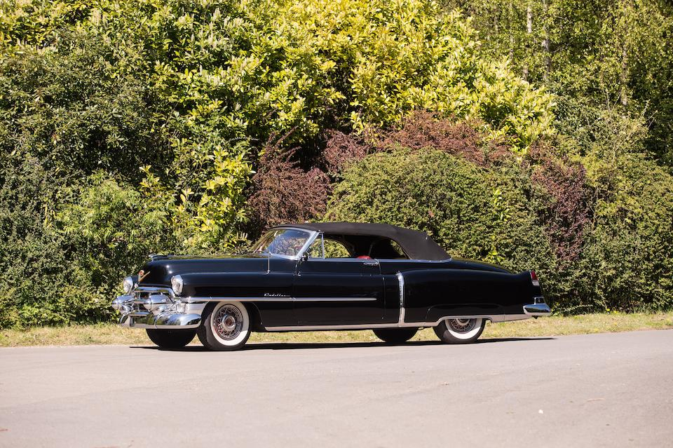 1953 CADILLAC SERIES 62 CONVERTIBLE COUPE  Chassis no. 536273698