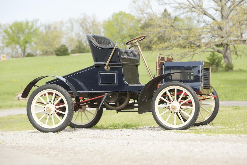 <b>1905 Queen Model B Runabout  </b><br />Chassis no. 850