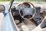 <b>1996 BMW Z3 James Bond Edition Roadster  </b><br />VIN.4USCH7325TLE00762