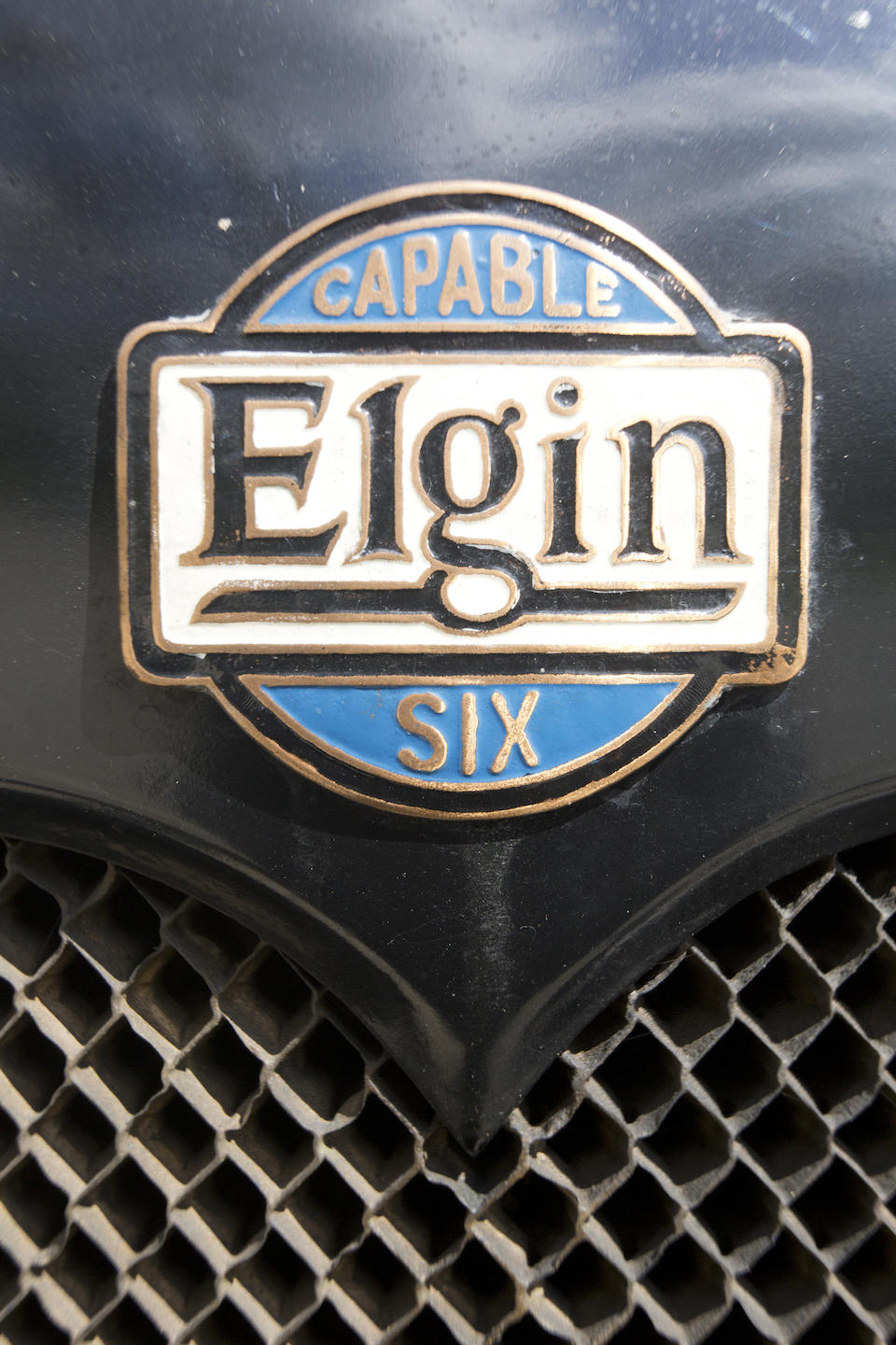 <b>1916 Elgin Six Touring  </b><br />Chassis no. 174093 <br />Engine no. M3075