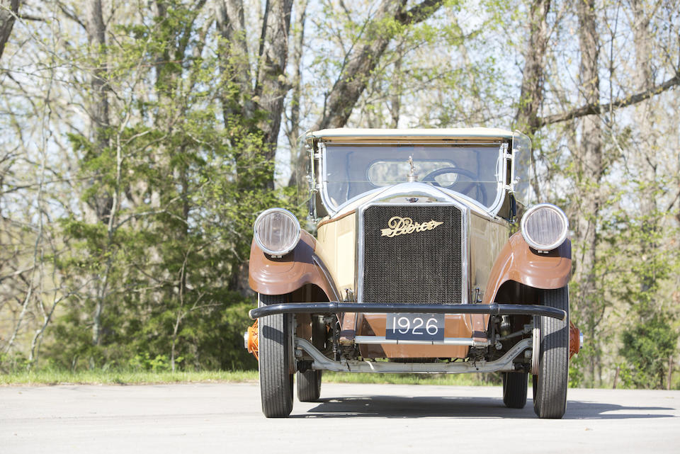 <b>1926 Pierce Arrow Model 80 Rumble Seat Roadster  </b><br />Chassis no. 8015876 <br />Engine no. 8013711