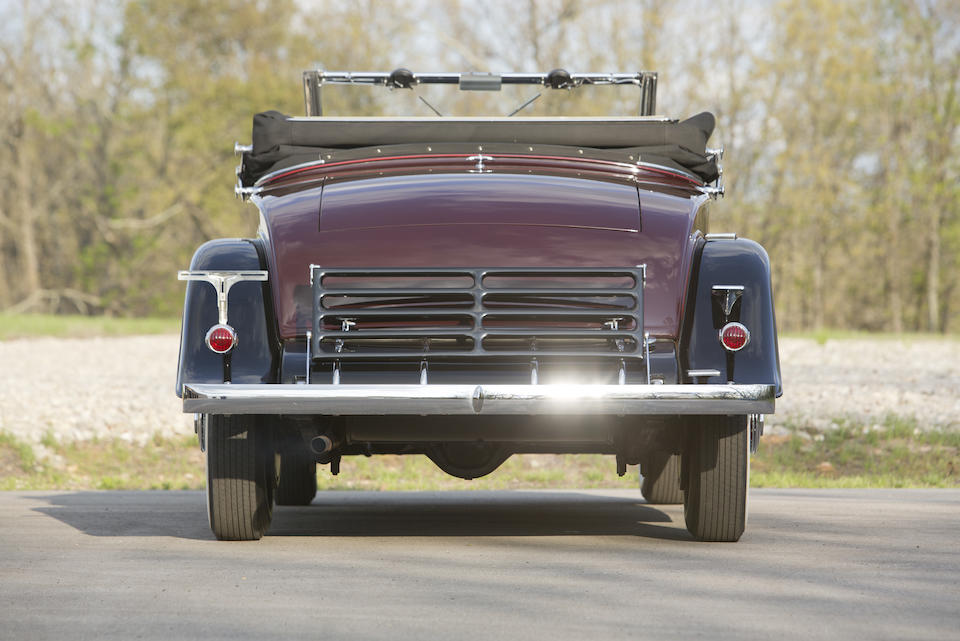 <b>1931 Cadillac 355-A V-8 Convertible Coupe  </b><br />Chassis no. 801187