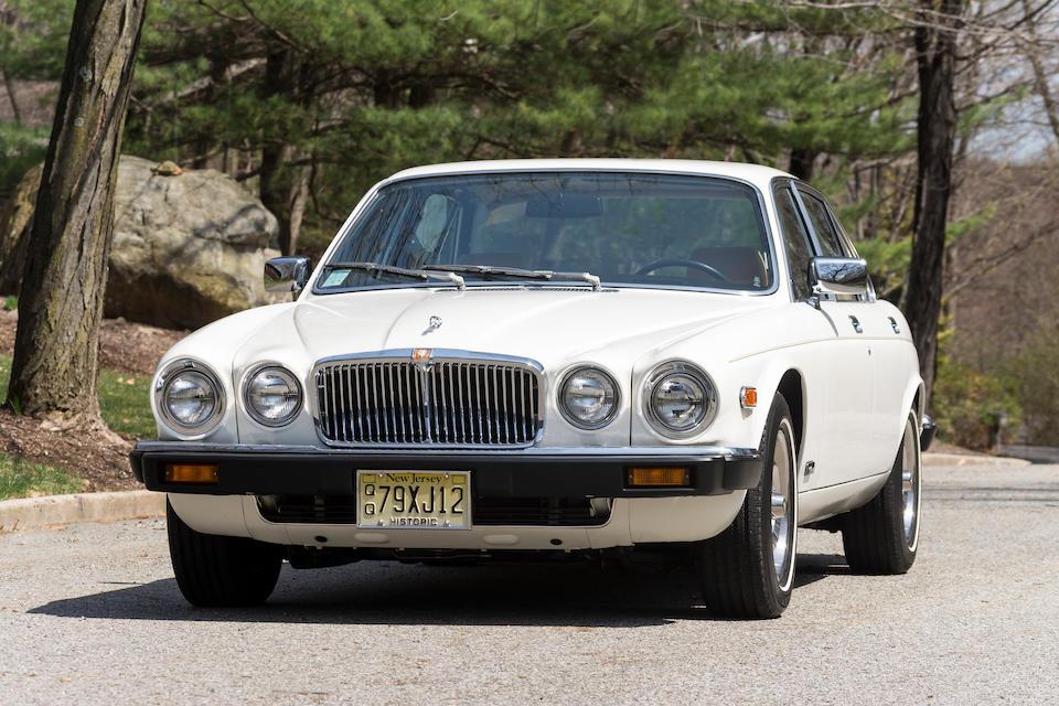 <b>1979 Jaguar XJ12 Sedan  </b><br />Chassis no. JBVLV49C307607 ,br>Engine no. 7P40614LA