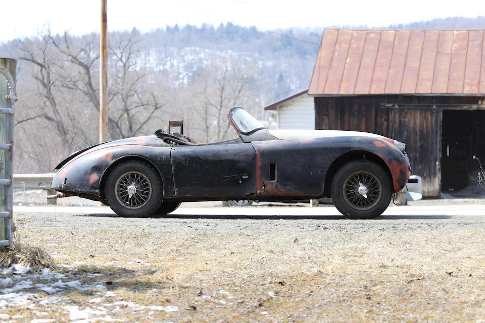 <b>1958 Jaguar XK150 3.4 Liter Roadster  </b><br />Chassis no. S 830358 DN <br />Engine no. V3797-8
