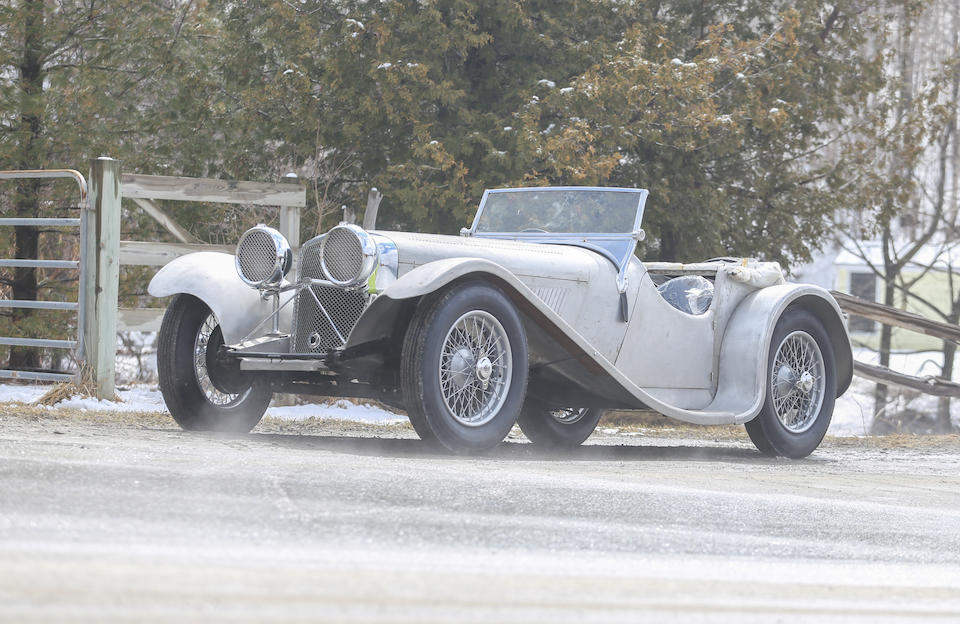 <b>1935 SS90 Roadster  </b><br />Chassis no. 249485 <br />Engine no. 252444 &#150; (see text)
