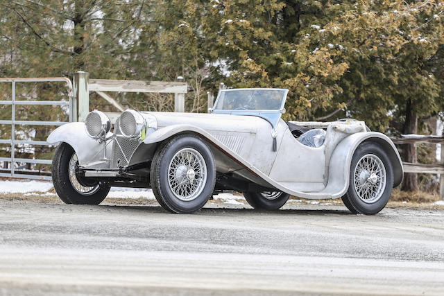 <b>1935 SS90 Roadster  </b><br />Chassis no. 249485 <br />Engine no. 252444 – (see text)