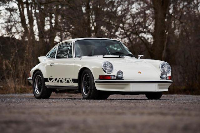 <b>1973 Porsche 911 RS 2.7 M472 Touring</b><br />Chassis no. 9113600463 <br />Engine no. 6630393