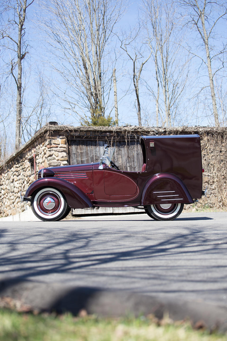 <b>1938 Bantam Boulevard Delivery  </b><br />Chassis no. 60365 <br />Engine no. M-63544