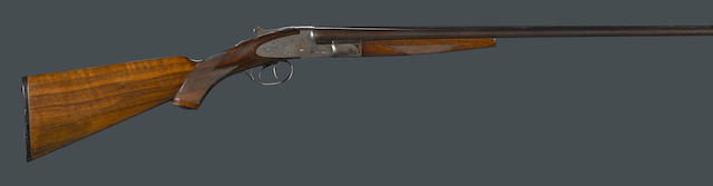A scarce .410 gauge LC Smith Field Grade side-by-side shotgun