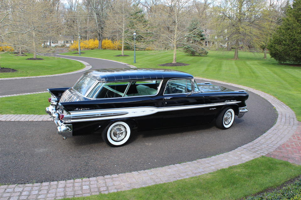 <b>1957 Pontiac Star Chief Safari Sport Wagon  </b><br />Chassis no. P757H55759