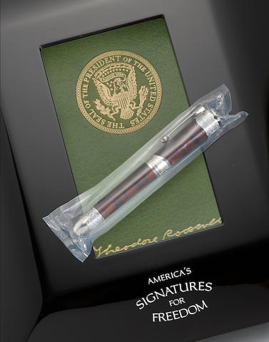 MONTBLANC: Theodore Roosevelt America's Signatures for Freedom Series Limited Edition 50 Fountain Pen *SEALED*