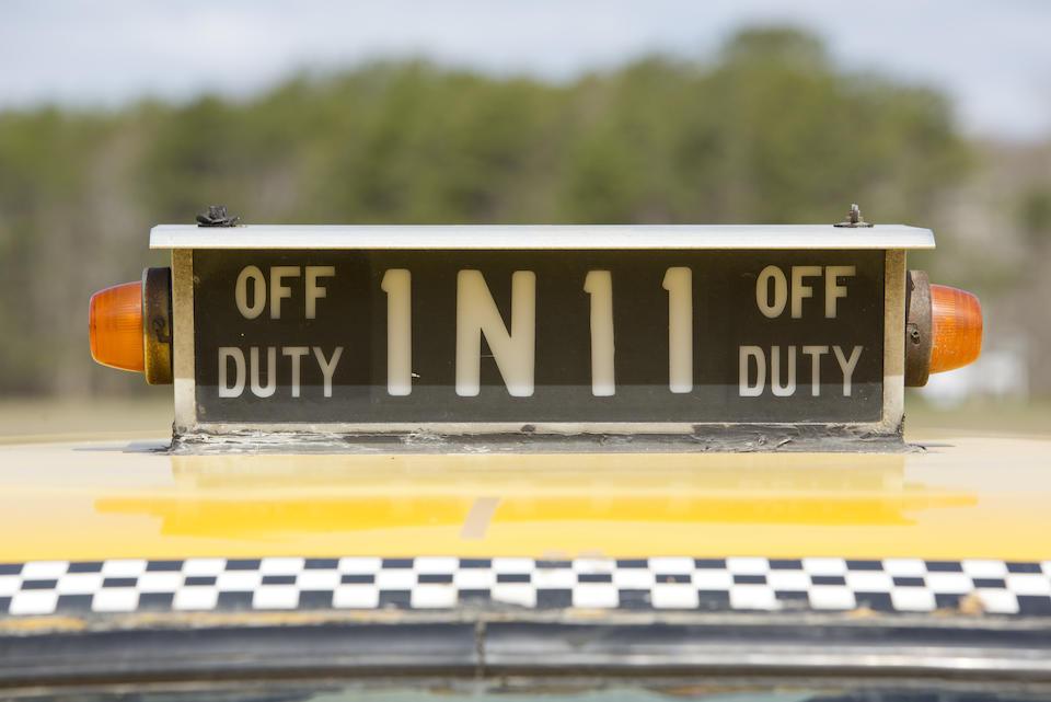 "<b>1965 Checker Marathon Taxi ""Janie""  </b><br />Chassis no. A11299882936E"