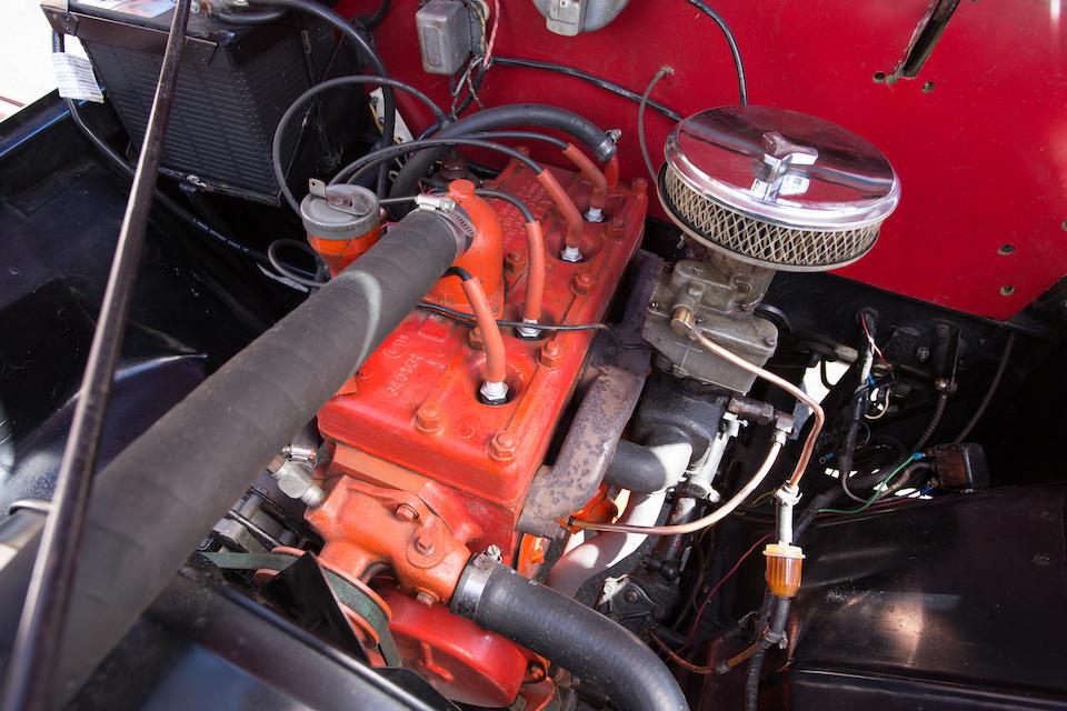 <b>1949 Willys Jeepster Phaeton  </b><br />Chassis no. VJ3-11929