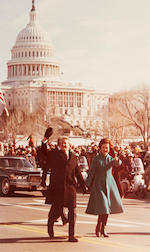CARTER WHITE HOUSE. Official album of 37 White House Press color photographs of the Inauguration of President Jimmy Carter, January 20, 1977,