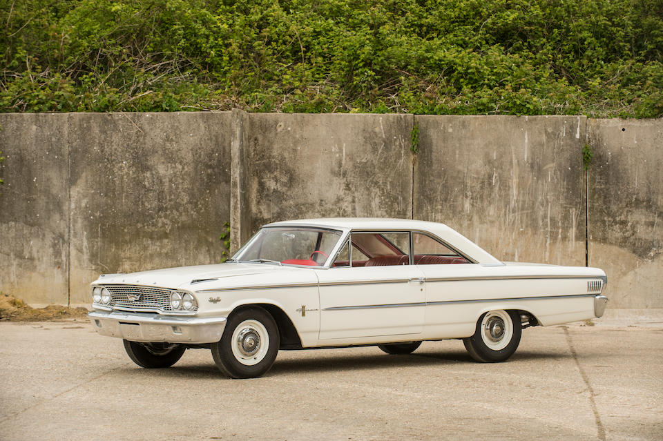 1963½ FORD GALAXIE 500 R-CODE LIGHTWEIGHT  Chassis no. 3N66R144637