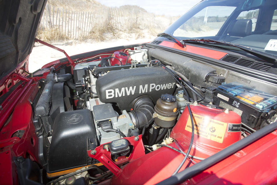 1989 BMW M3 COUPE  Chassis no. WBSAK0300K2198332