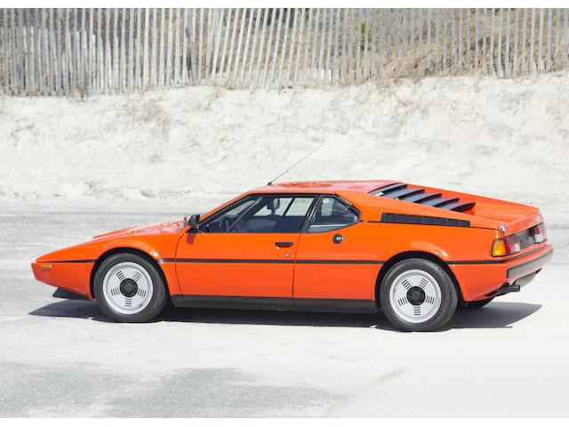 1980 BMW M1  Chassis no. ABEB218