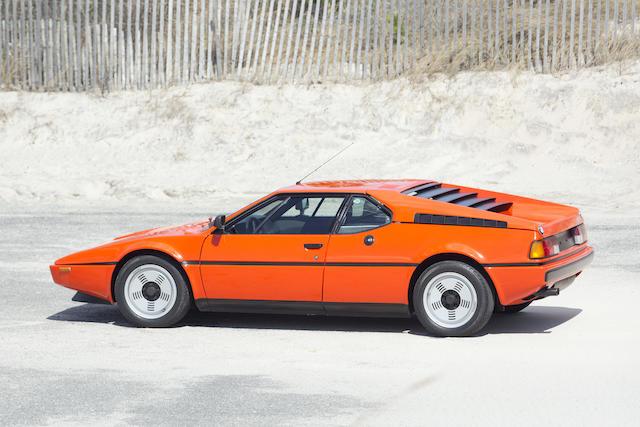1980 BMW M1 COUPEVIN.WBS59910004301160