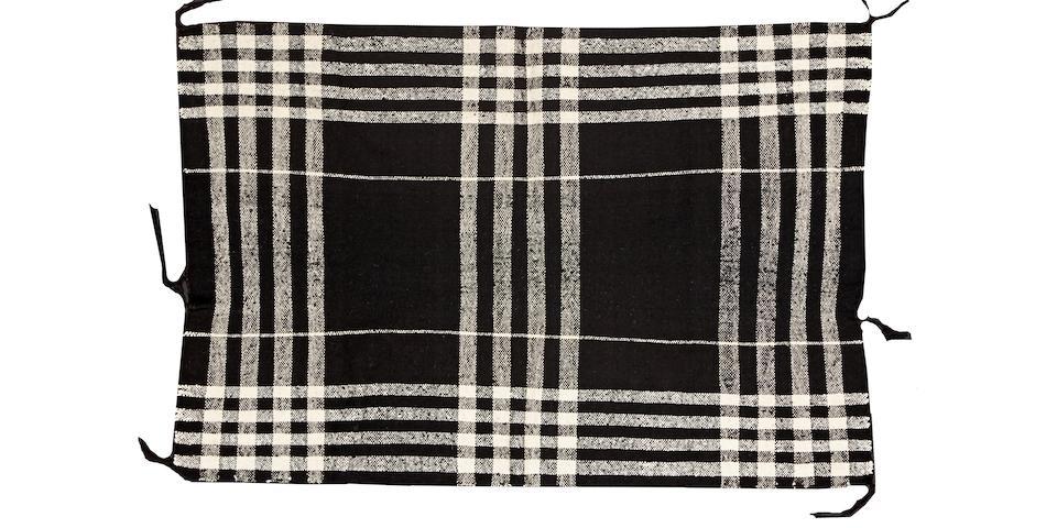 A Hopi child's blanket